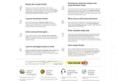 Layanan Transkripsi Online Terbaik Indonesia BeeTranscription